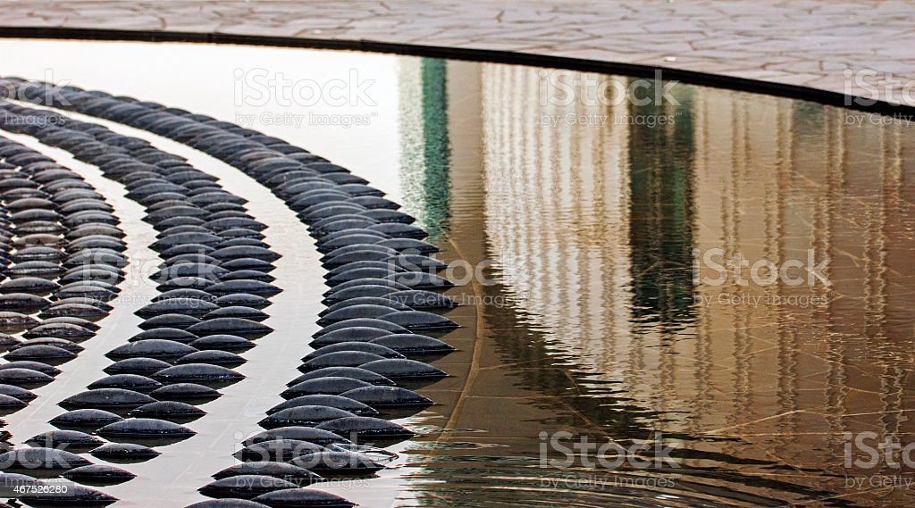 Milano, fontana stock photo