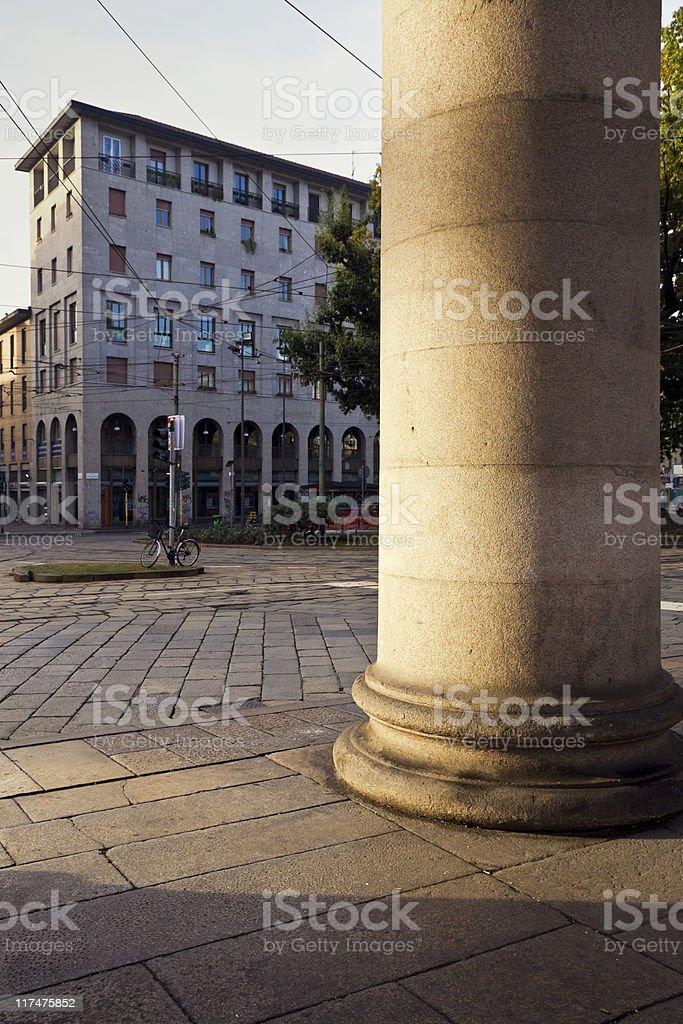 Milano stock photo