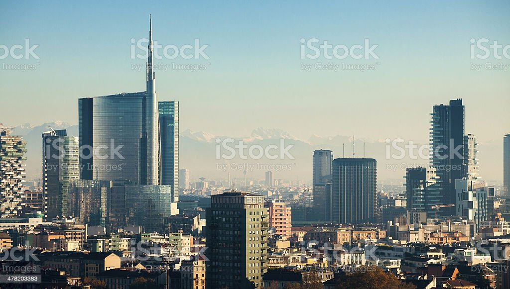 Milano Skyscrapers stock photo