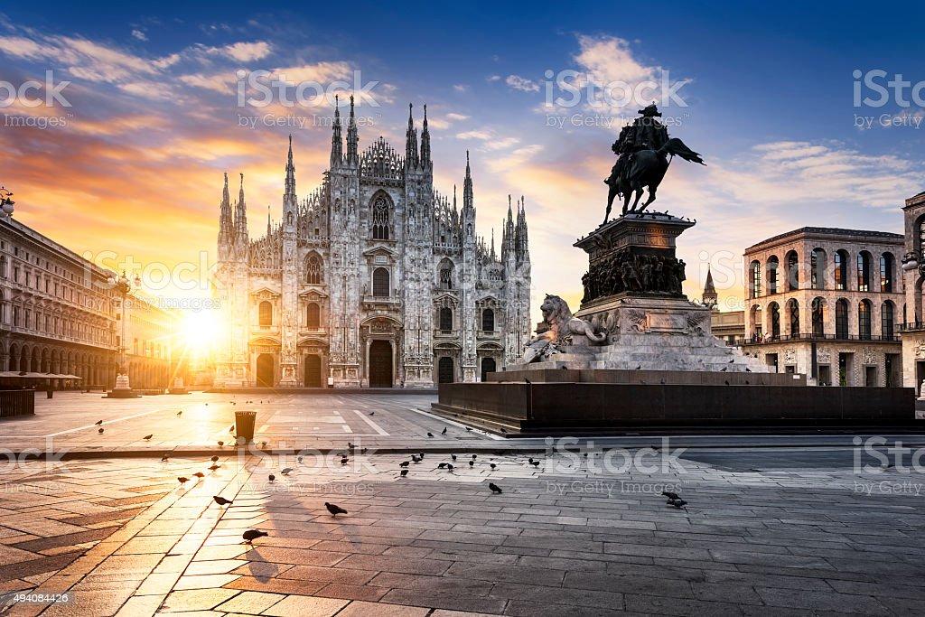 Milano spirit royalty-free stock photo