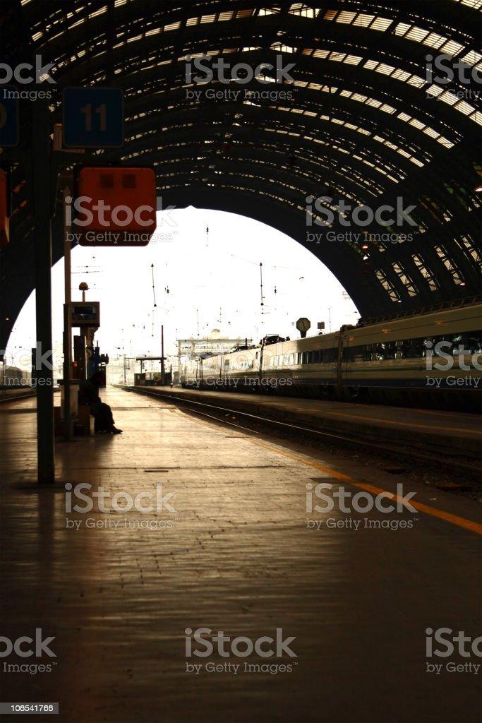 Milano train station royalty-free stock photo