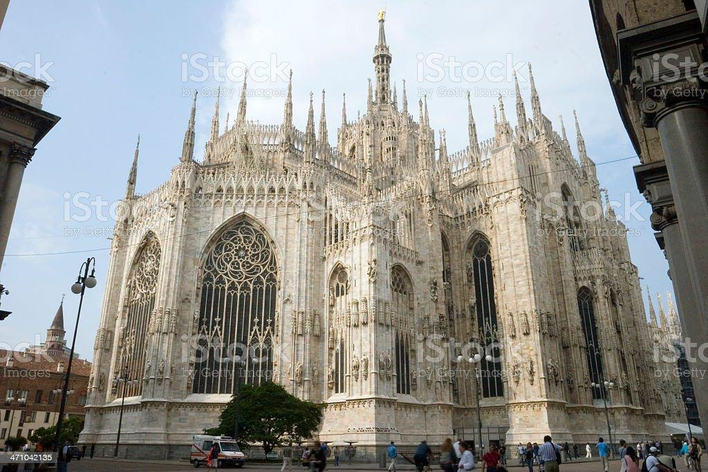 Milan's Duomo stock photo