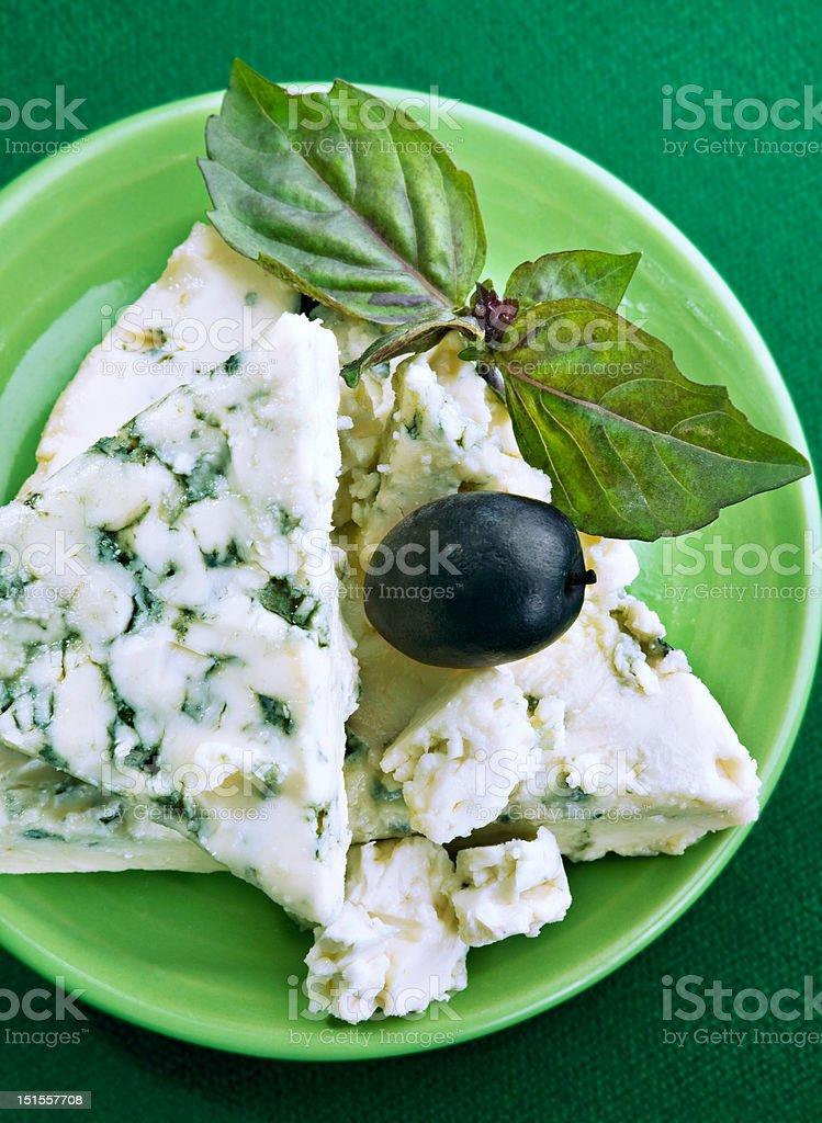 Mildew cheese stock photo