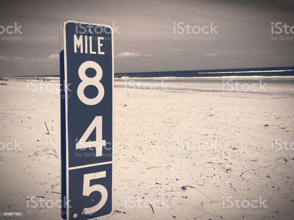 17-056 mile 845 stock photo