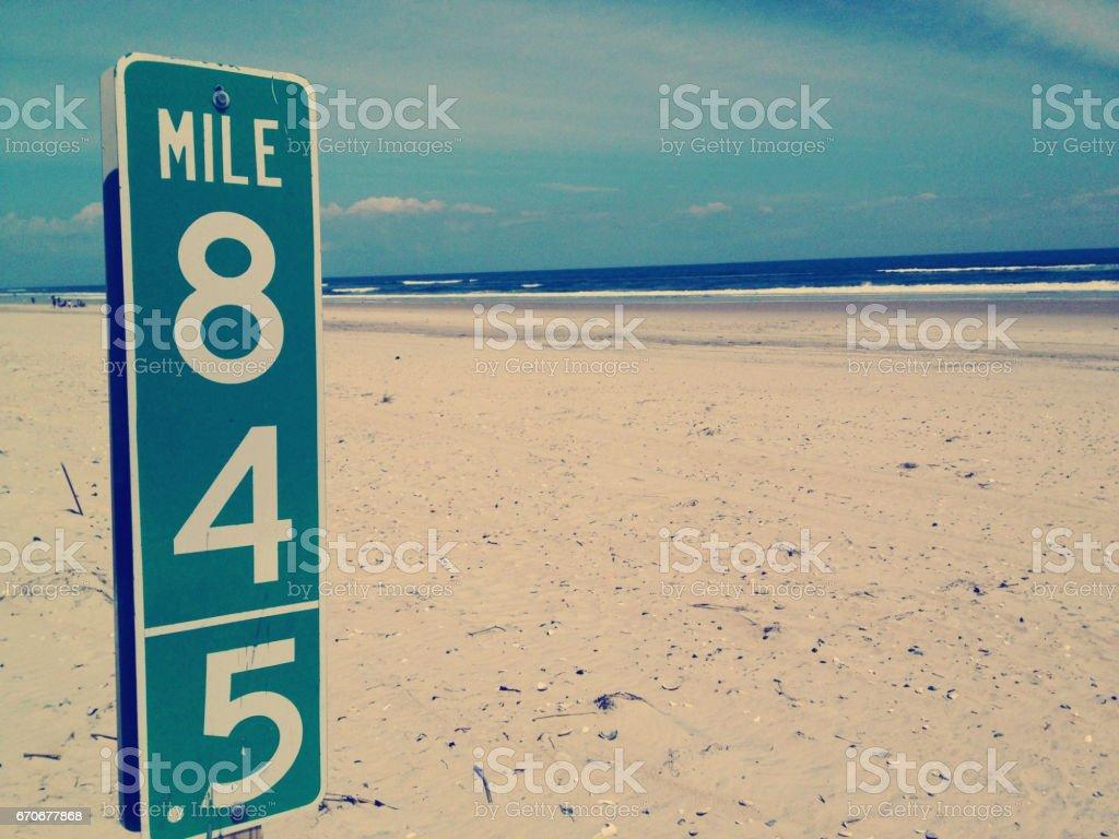 17-057 mile 845 stock photo