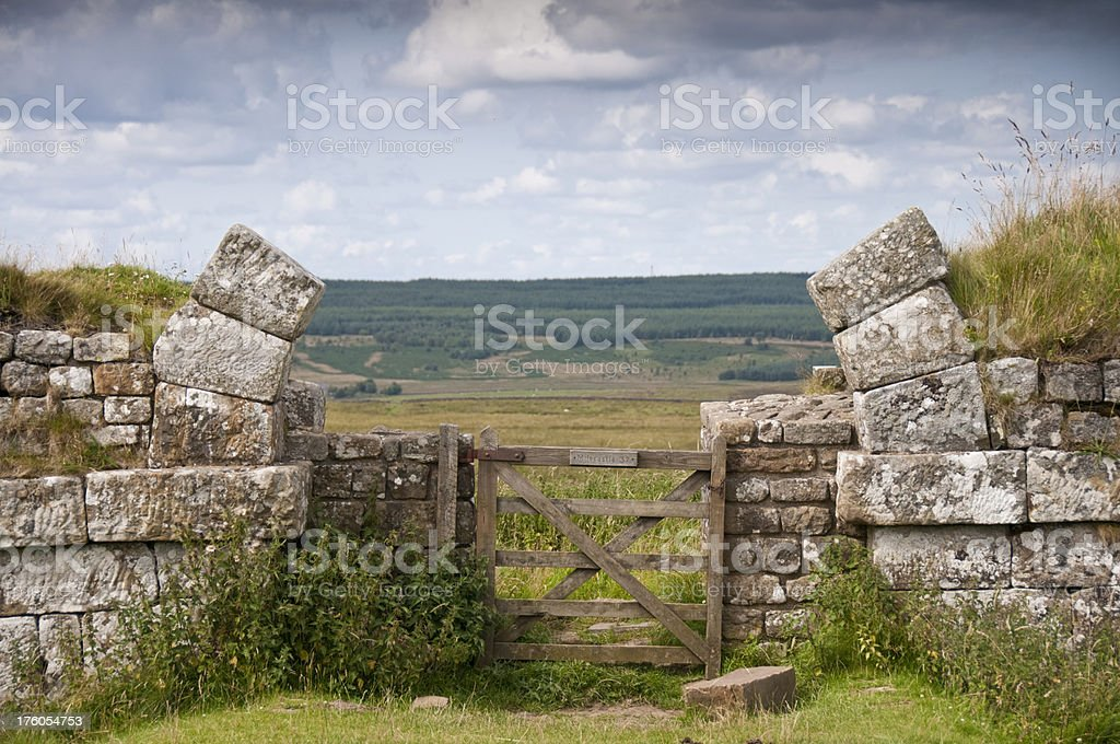 Mile Castle 37 royalty-free stock photo