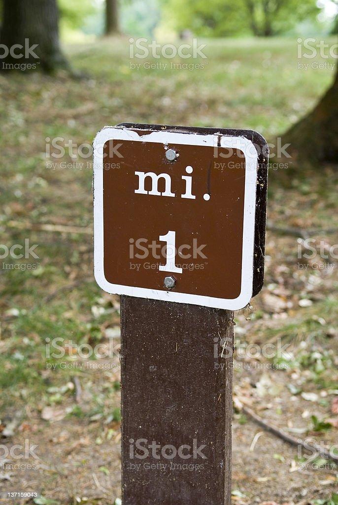 Mile One stock photo