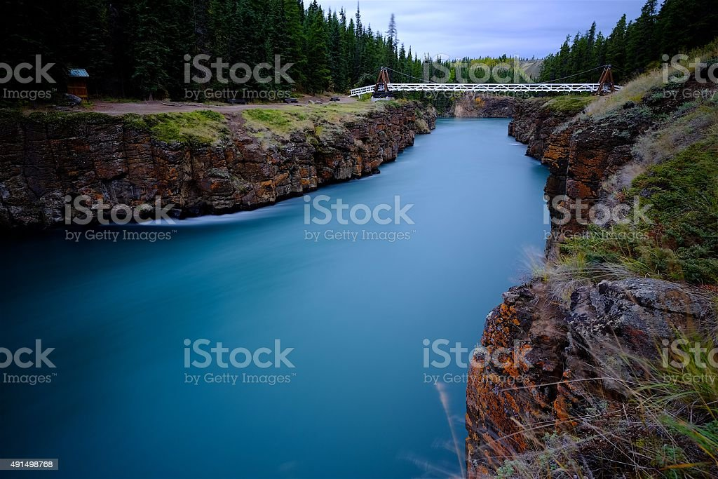 Miles Canyon stock photo