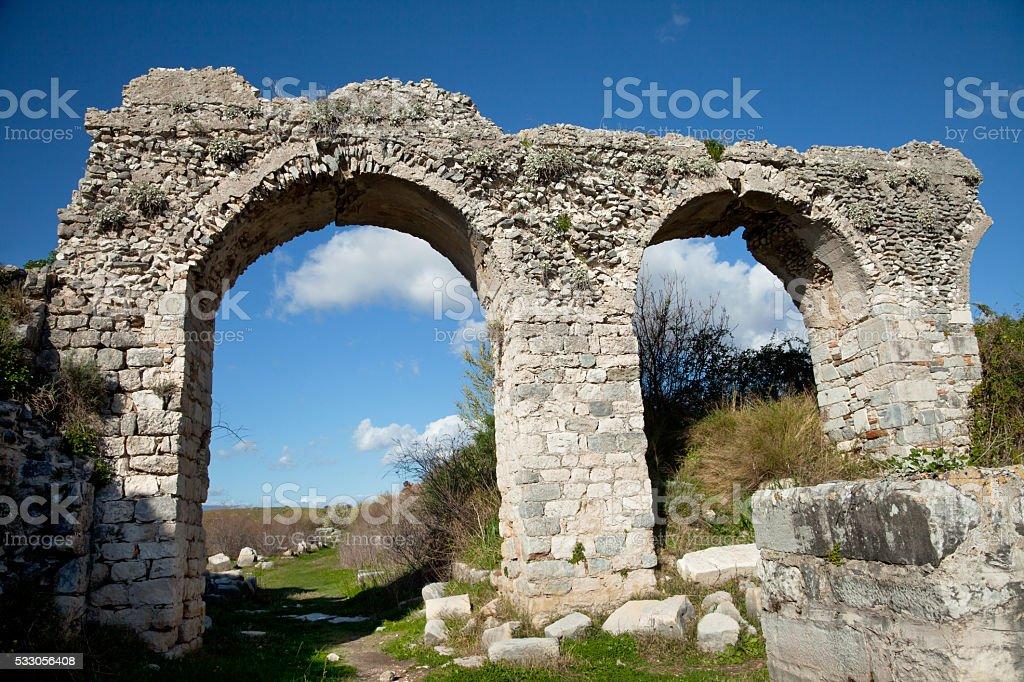 Miletus Ancient City , Turkey, Miletos stock photo