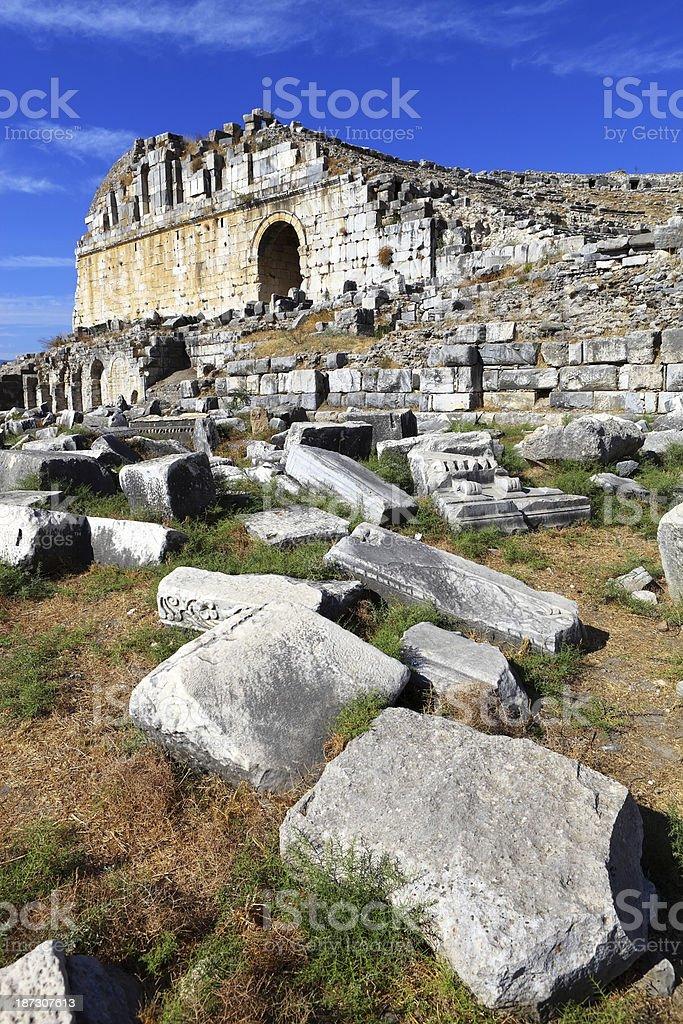 Miletus stock photo