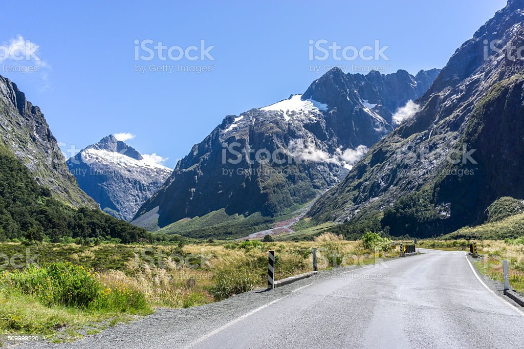 milford road stock photo