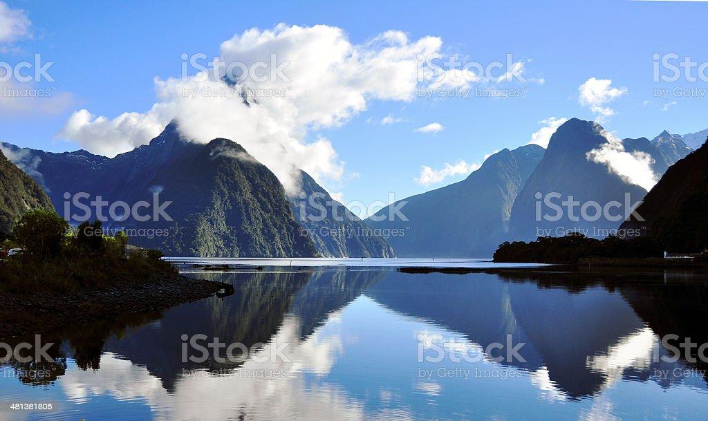 Milford Sound stock photo