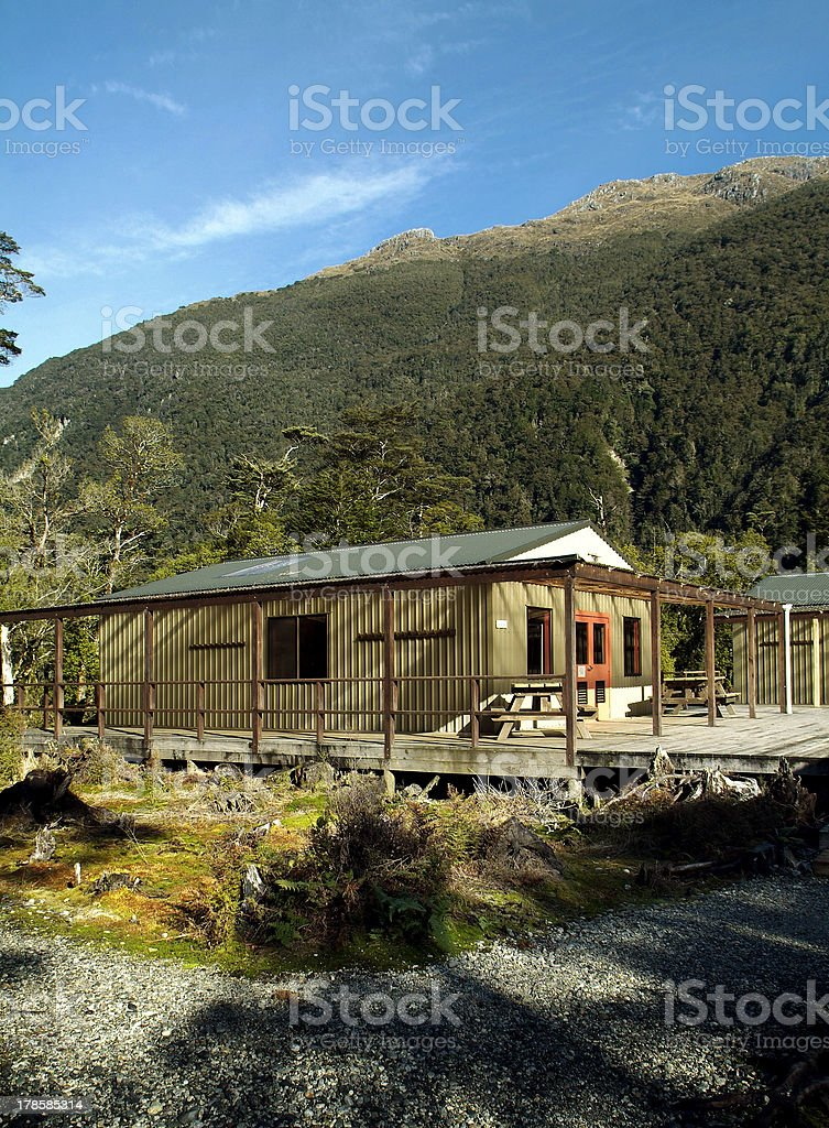 Milford Track stock photo