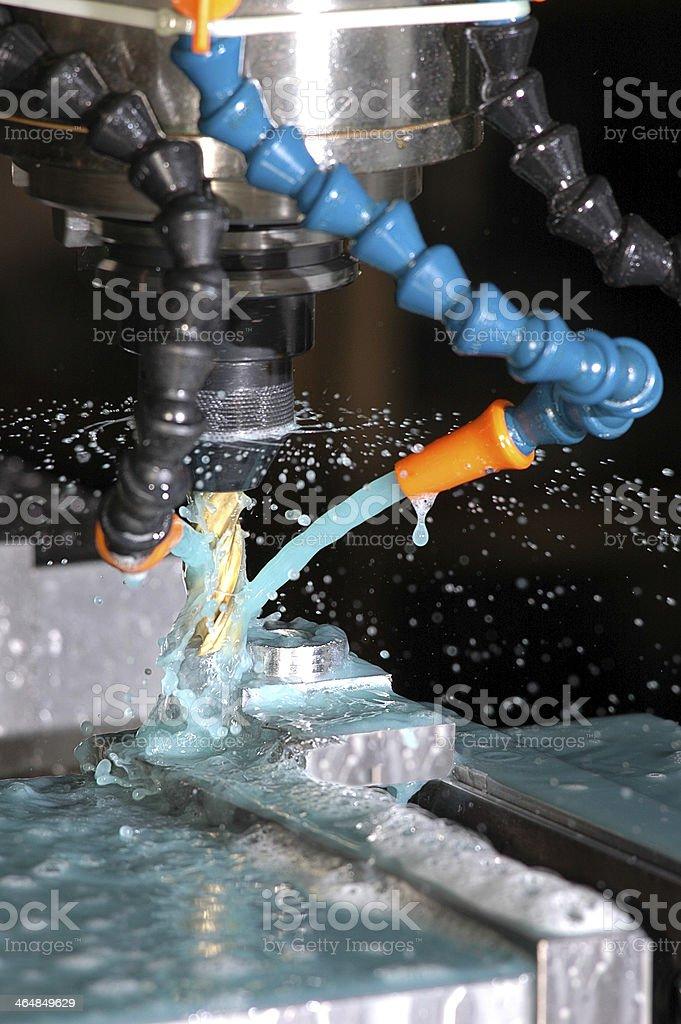 Miling Machine stock photo