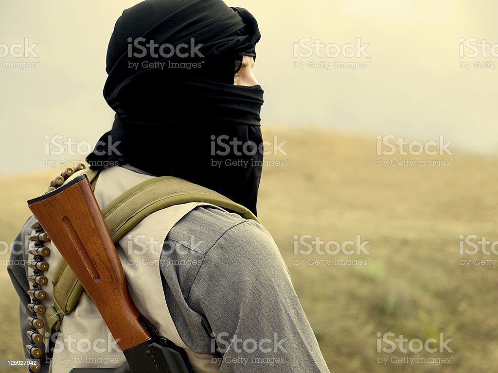 militant royalty-free stock photo