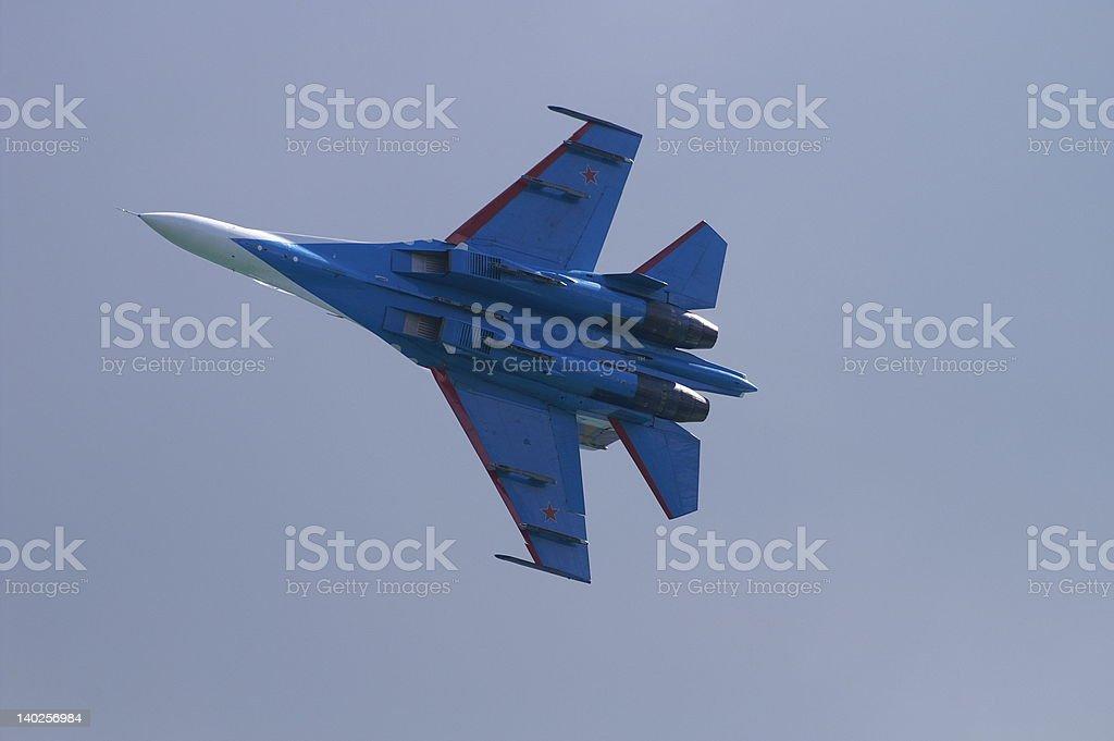 Military aircraft royalty-free stock photo