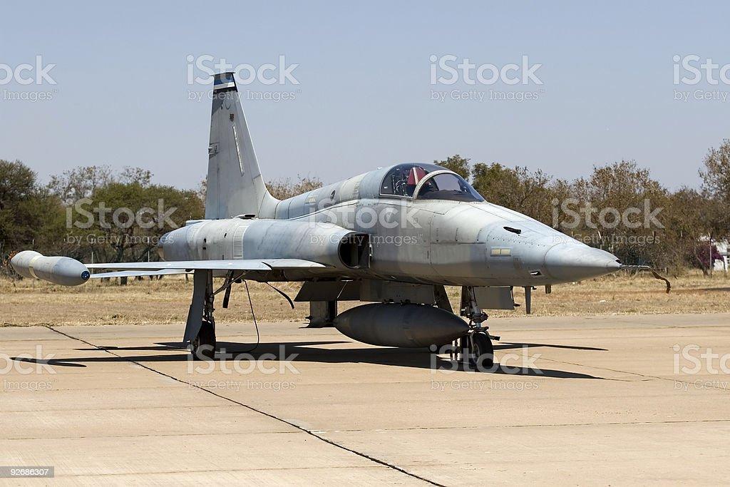 military airplane royalty-free stock photo