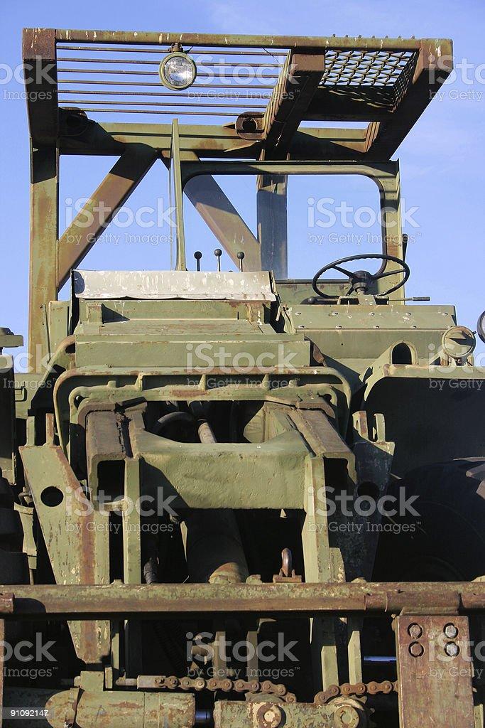 Military apparatus royalty-free stock photo