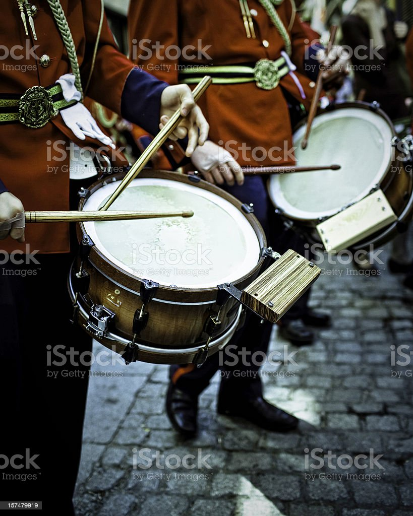military band royalty-free stock photo