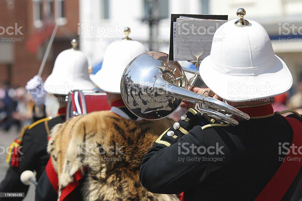Military Band stock photo