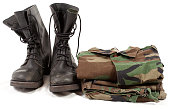 military boots army soldier uniforms clothing, shoes  camouflage clothes white