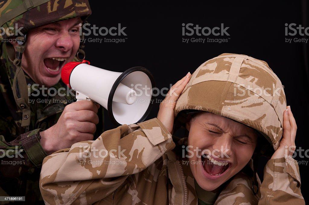 Military Bully stock photo