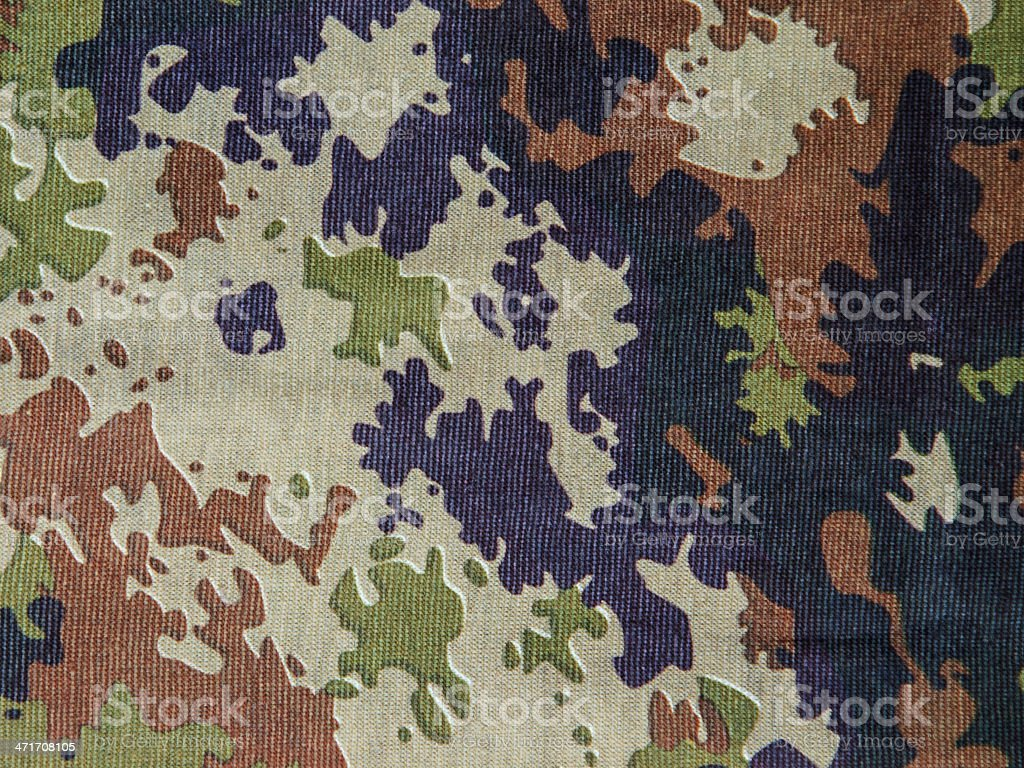 Military camouflage fabric royalty-free stock photo