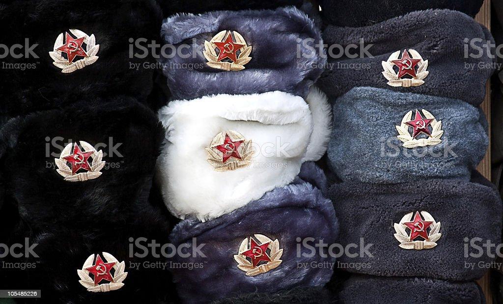 Militar cap foto de stock royalty-free