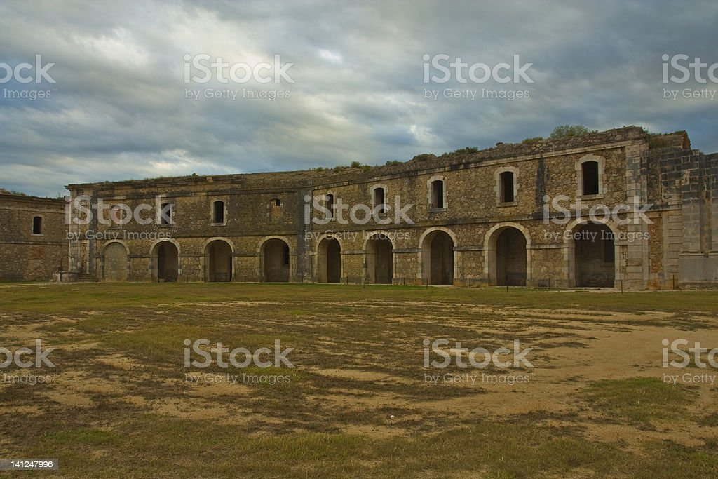 Military Castle stock photo