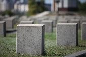 military cemetery empty gravestone