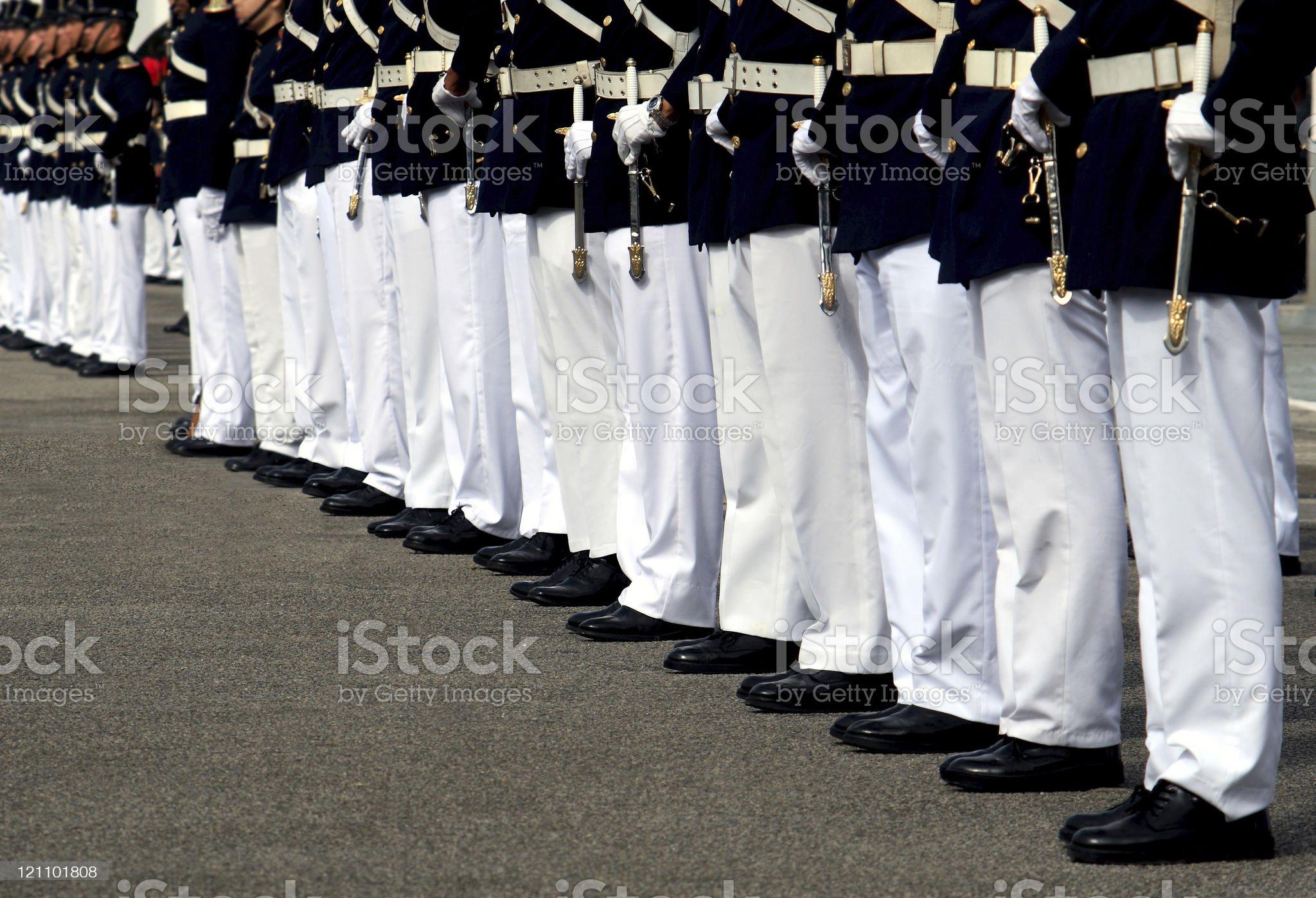 Military ceremony royalty-free stock photo