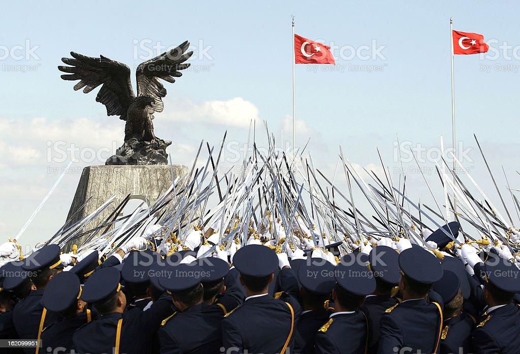 Military Ceremony. royalty-free stock photo