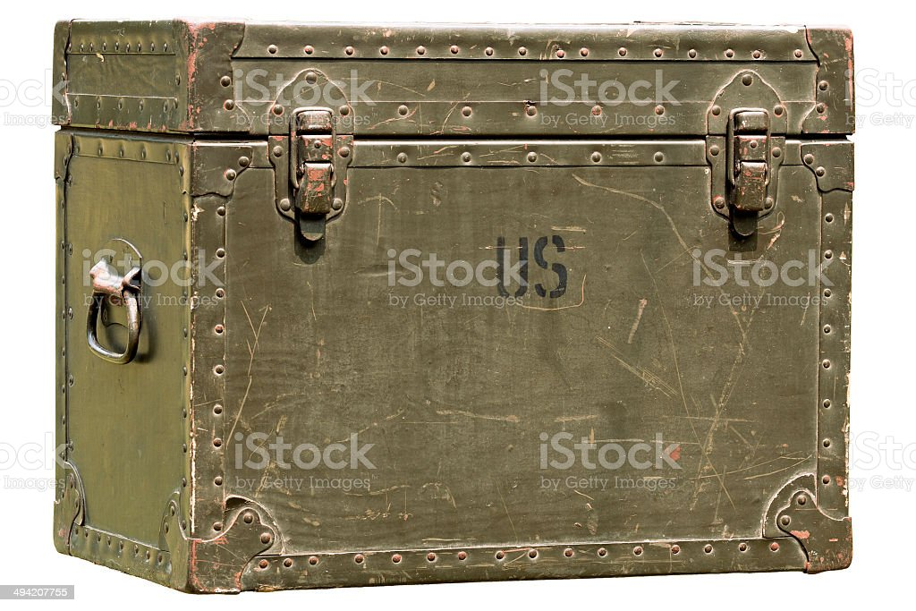 military chest stock photo