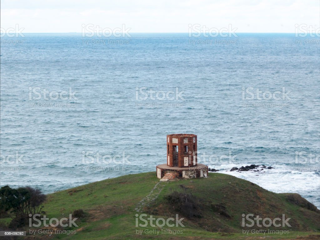 Military defensive position barrack stock photo
