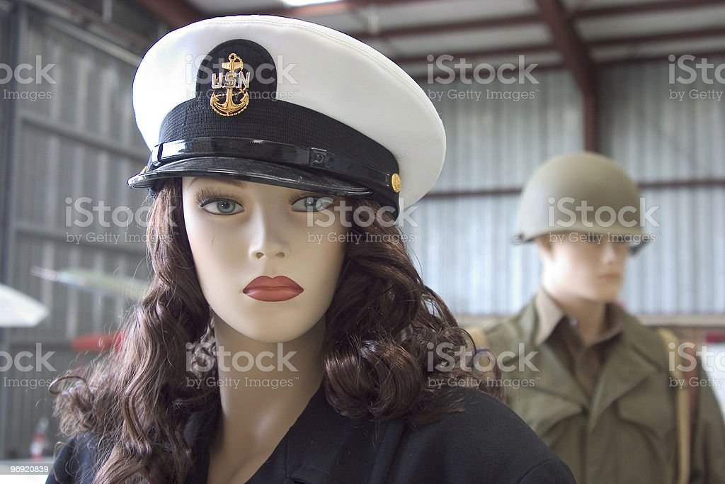 Military Dummies royalty-free stock photo