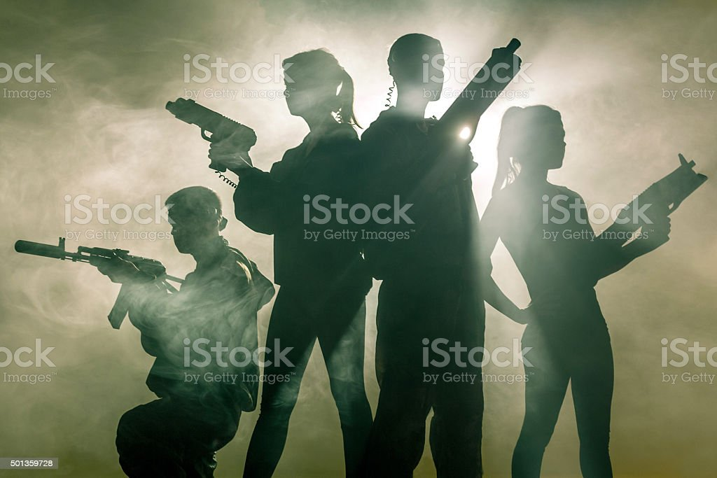 Military Game stock photo