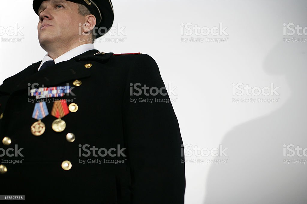 Military General royalty-free stock photo