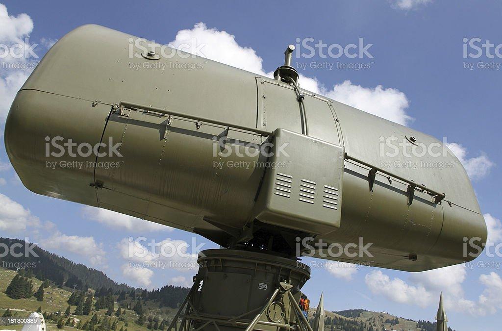 military green camouflage huge radar 2 stock photo