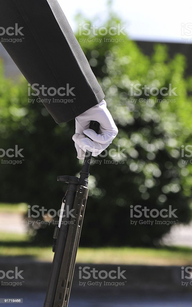 military hand royalty-free stock photo