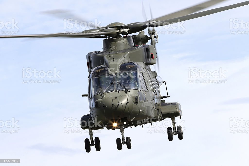 Military Helicopter royalty-free stock photo