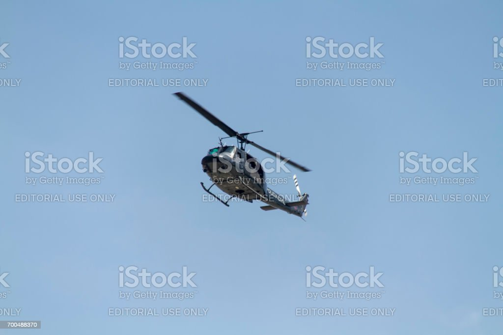 Military Helicopter stock photo