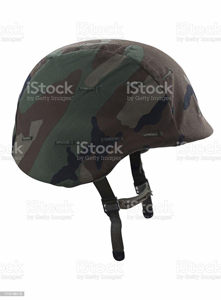 Military helmet royalty-free stock photo