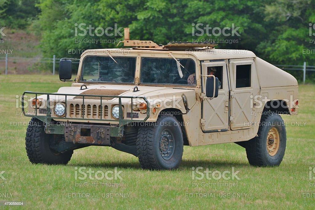 Military HMMWV Vehicle stock photo