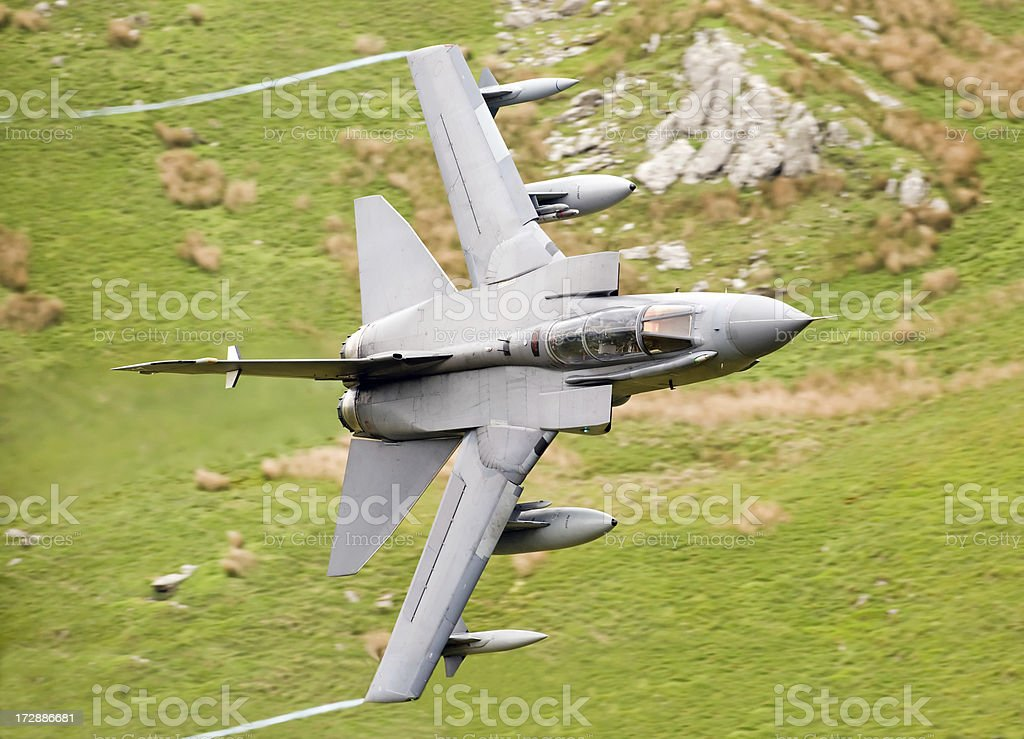 Military Jet royalty-free stock photo