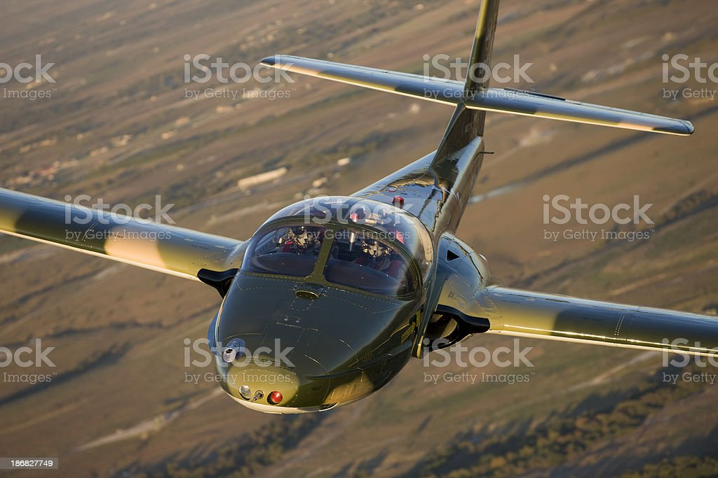 Military Jet Trainer stock photo