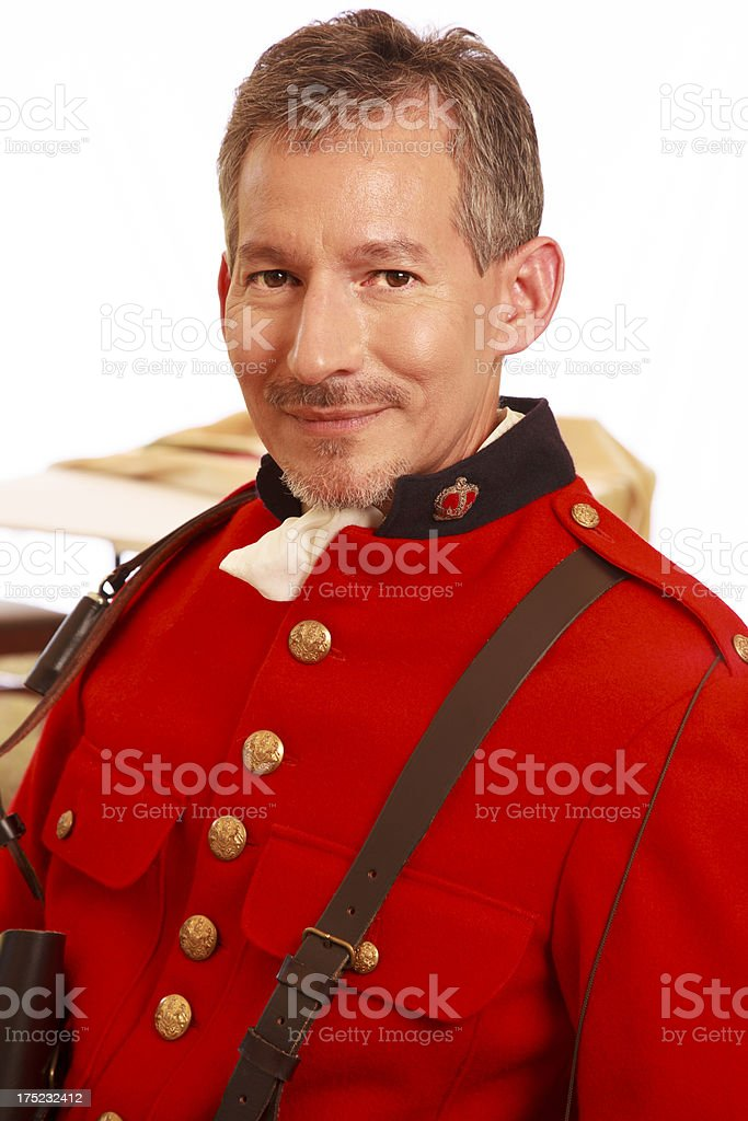 Military Man stock photo