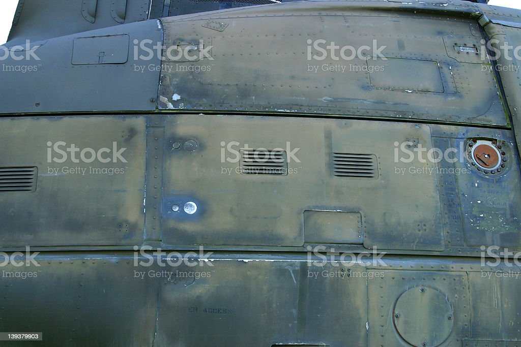Military Metal royalty-free stock photo