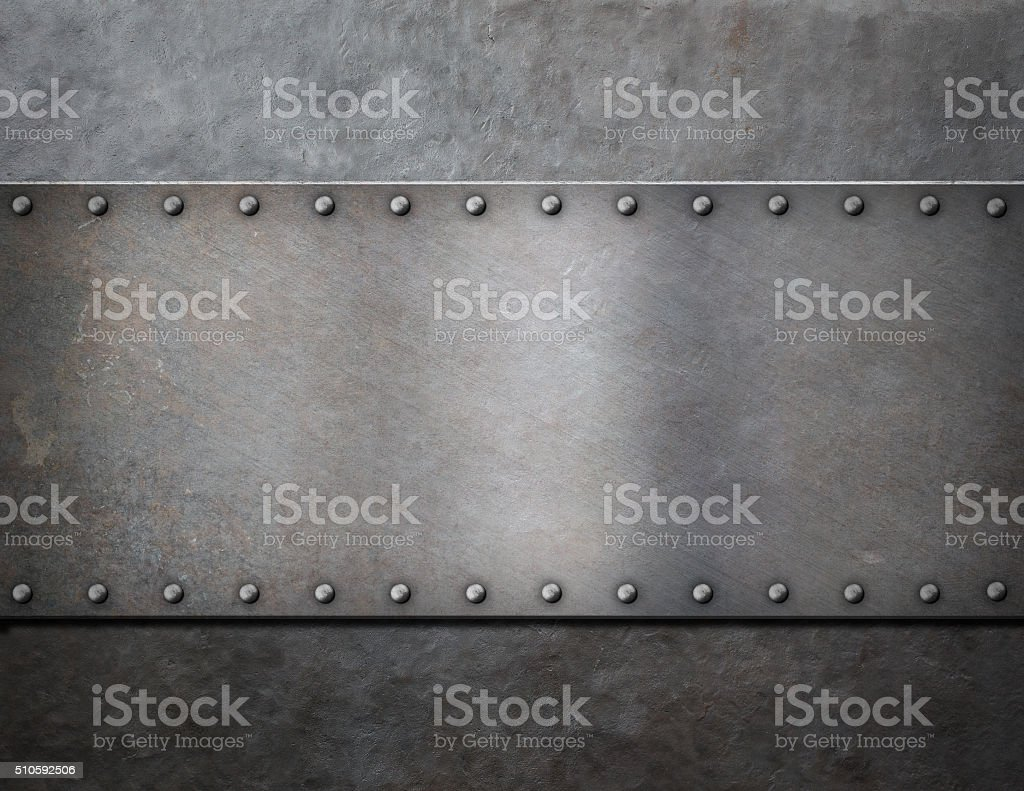 military metal steam punk background stock photo