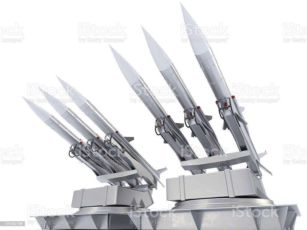 Military Missile royalty-free stock photo