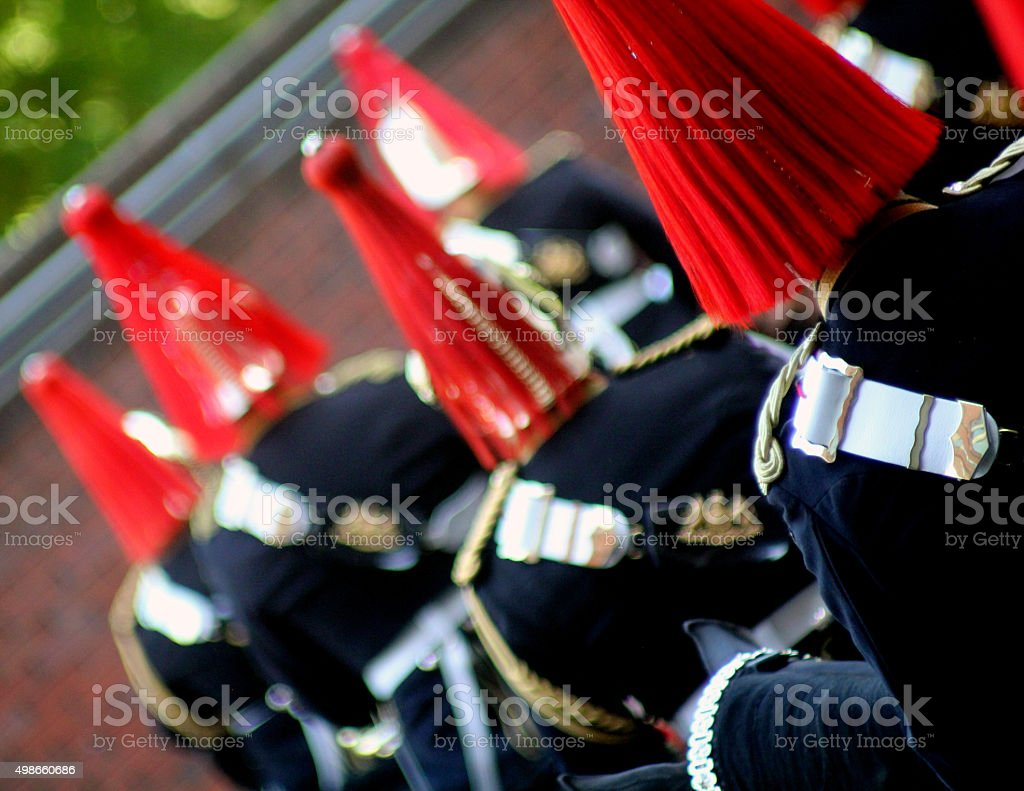 Military Musicians stock photo